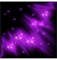 Glowing background with stars vector image vector image