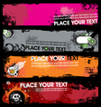 Grunge banners vector | Price: 1 Credit (USD $1)