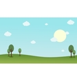 Landscape of nature backgrounds vector image vector image