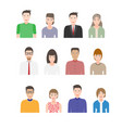 modern peopl flat kit vector image