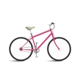 Pink Bicycle vector image vector image