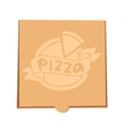Pizza box vector image vector image