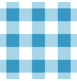 seamless white dark and bright blue tartan vector image vector image