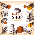 vintage bakery sketch background sketch hand drawn