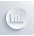 modern graph light circle icon vector image