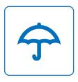 Umbrella icon cartoon vector image
