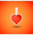 Valentines day heart love potion vector image
