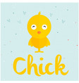 animal chick cartoon chick background image vector image vector image
