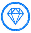 diamond rounded grainy icon vector image vector image