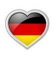 German heart icon vector image vector image