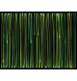 liquid organic green yellow lines pattern vector image vector image