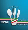 Menu Italian