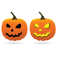 pumpkin for Halloween vector image