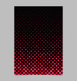 red abstract dot pattern brochure background vector image vector image