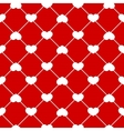 Seamless heart pattern vector image