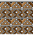 african zulu decorative pattern for the vector image vector image