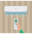 Air conditioner system vector image vector image