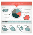 Colored finance infographic