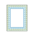 frame of photo fashion graphic background modern vector image vector image