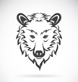 images bear head vector image vector image