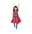 mather superheroes super mom character vector image vector image