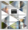 Modern banners Abstract multicolored vector image vector image