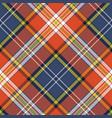 seamless pattern fabric texture tartan plaid vector image