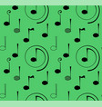 seamless pattern note music vector image vector image