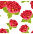 vintage color spring summer flowers vector image