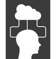 cloud design vector image