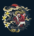 masks devil bali indonesian balinese culture