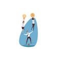 support management leadership teamwork vector image vector image