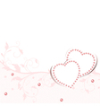 Wedding love frame vector image vector image