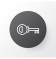 door key icon symbol premium quality isolated vector image