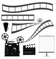 Film roll vector image
