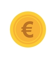 Coin icon Money and financial item design vector image