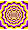 Abstract hypnotic optical vector image vector image