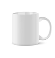 Coffee cup isolated on white background vector image