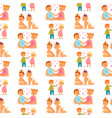 couple in love characters togetherness vector image vector image
