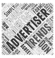 Internet Advertising Trends You Won t Be vector image vector image
