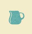 jug of milk icon vector image vector image