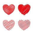 Love and valentines day vector image