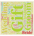 Perfect Gifts For Both The Bride and Groom text vector image vector image