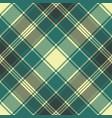 tartan plaid pixel seamless pattern vector image vector image