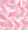 Abstract pink geometrical vector image vector image