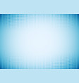 abstract waves dots pattern halftone blue vector image