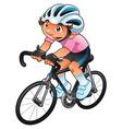 Baby Cyclist vector image vector image