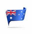 australian flag map pointer layout