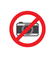 Camera flat icon vector image