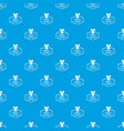 cleaning pattern seamless blue vector image vector image